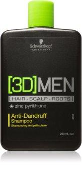 Schwarzkopf Professional [3D] MEN Hiustenpesuaine Hilsettä Vastaan